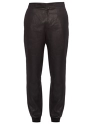 Paul Smith Coated Linen Track Pants