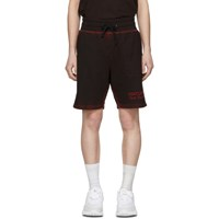 Saturdays Surf Nyc Ssense Exclusive Black And Red Austin Shorts