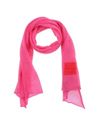 Ermanno Scervino Scervino Street Accessories Oblong Scarves Women Fuchsia