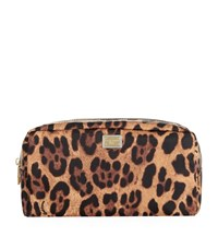 Dolce And Gabbana Cosmetics Bag Female Brown