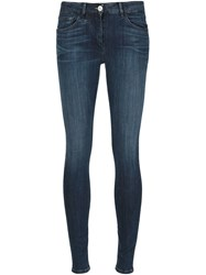 3X1 Mid Rise Skinny Jeans Blue