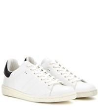 Isabel Marant Etoile Bart Leather Sneakers White