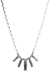 Konplott Manhatten Rocks Necklace Grau Antiksilberfarben Grey