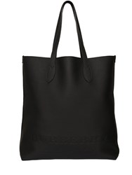 Burberry Logo Leather Tote Bag