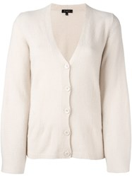 Etro Bell Sleeve Cardigan Nude And Neutrals