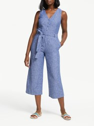 Boden Verity Jumpsuit Light Chambray