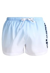 Ellesse Rombo Swimming Shorts Placid Blue Optic White Light Blue