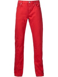 A.P.C. Classic Chinos Red