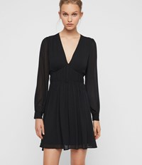 Allsaints Kiana Dress Black