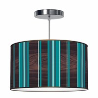 Jefdesigns Vertical Stripey Pendant Light