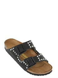 Birkenstock Arizona Studded Leather Slide Sandals