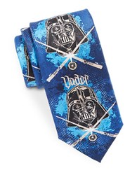Star Wars Darth Vader Tie Blue