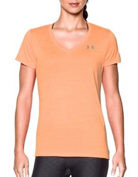 Under Armour Solid V Neck Tee Afterglow