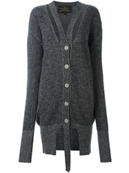 Vivienne Westwood Anglomania Long Cardigan Grey