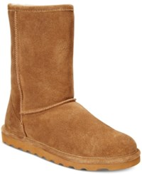 Bearpaw Women's Elle Short Cold Weather Booties Women's Shoes Hickory