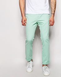 Bellfield 5 Pocket Chinos In Slim Fit Mint