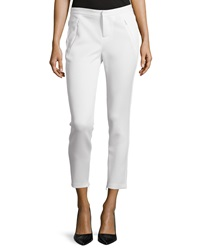 Philosophy Scuba Zipper Detail Crop Pants Fresh Lily