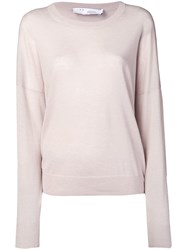 Iro Round Neck Jumper Neutrals
