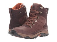 The North Face Chilkat Leather Coffee Bean Brown Gingerbread Brown Men's Cold Weather Boots