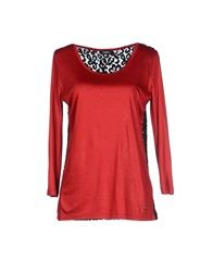 Byblos T Shirts Red