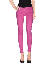 Cycle Trousers Casual Trousers Women Fuchsia