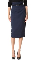 Black Halo High Waisted Pencil Skirt Eclipse