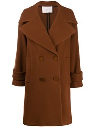 Tela Textured Boxy Double Breasted Coat 60