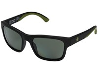 Spy Optic Hunt Matte Black Olive Happy Gray Green Polar Athletic Performance Sport Sunglasses