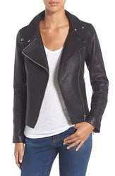 Mackage Women's Funnel Neck Leather Jacket