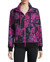 Marc New York Floral Print Track Jacket Btswt Hrvt