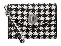 Vera Bradley Your Turn Smartphone Wristlet Midnight Houndstooth Wristlet Handbags Black