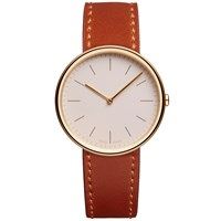 Uniform Wares M35 Wristwatch Brown
