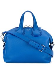 Givenchy Small Nightingale Tote Bag Blue