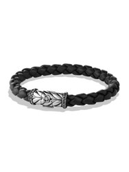 David Yurman Chevron Black Diamond Bracelet
