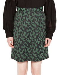 Pink Tartan Jigsaw Tiffany Skirt Green Black