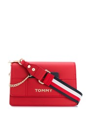 Tommy Hilfiger Logo Cross Body Bag Red