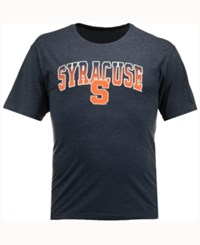 Colosseum Men's Syracuse Orange Gradient Arch T Shirt Navy