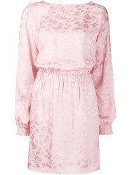 8Pm Salina Patterned Dress Pink
