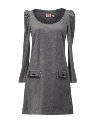Juicy Couture Short Dresses Grey