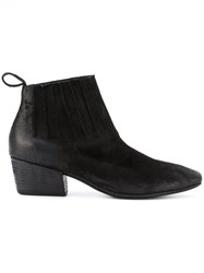 Marsell Freccia Boots Women Calf Leather Goat Skin Leather Rubber 37 Black