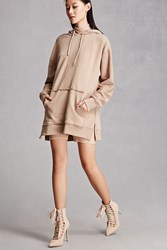 Forever 21 Faux Suede Stilettos Nude