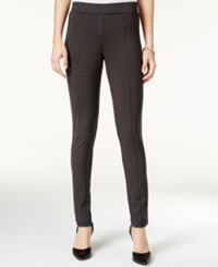 Styleandco. Style Co. Houndstooth Leggings Only At Macy's Carbon Grey
