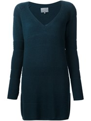 Maiyet Deep V Neck Sweater Green