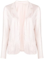Majestic Filatures Lurex Jacket Pink And Purple