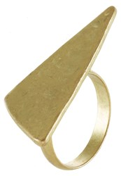 Selected Femme Sfcaia Ring Goldcoloured