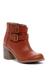 Michael Antonio Bellow Heeled Bootie Brown