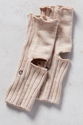 Anthropologie Ribbed Yoga Socks Neutral