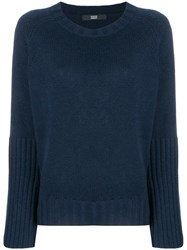 Steffen Schraut Wide Sleeved Jumper Blue