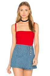 Unif Cameron Top Red