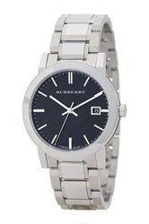 Burberry Unisex Analog Quartz Bracelet Watch Metallic